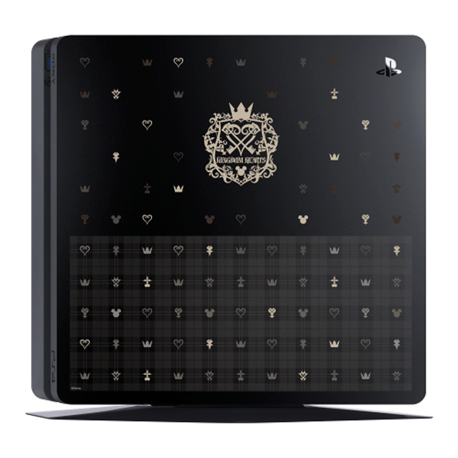 Kingdom Hearts III Special Edition PS4 Slim Revealed For Japan RPG Site