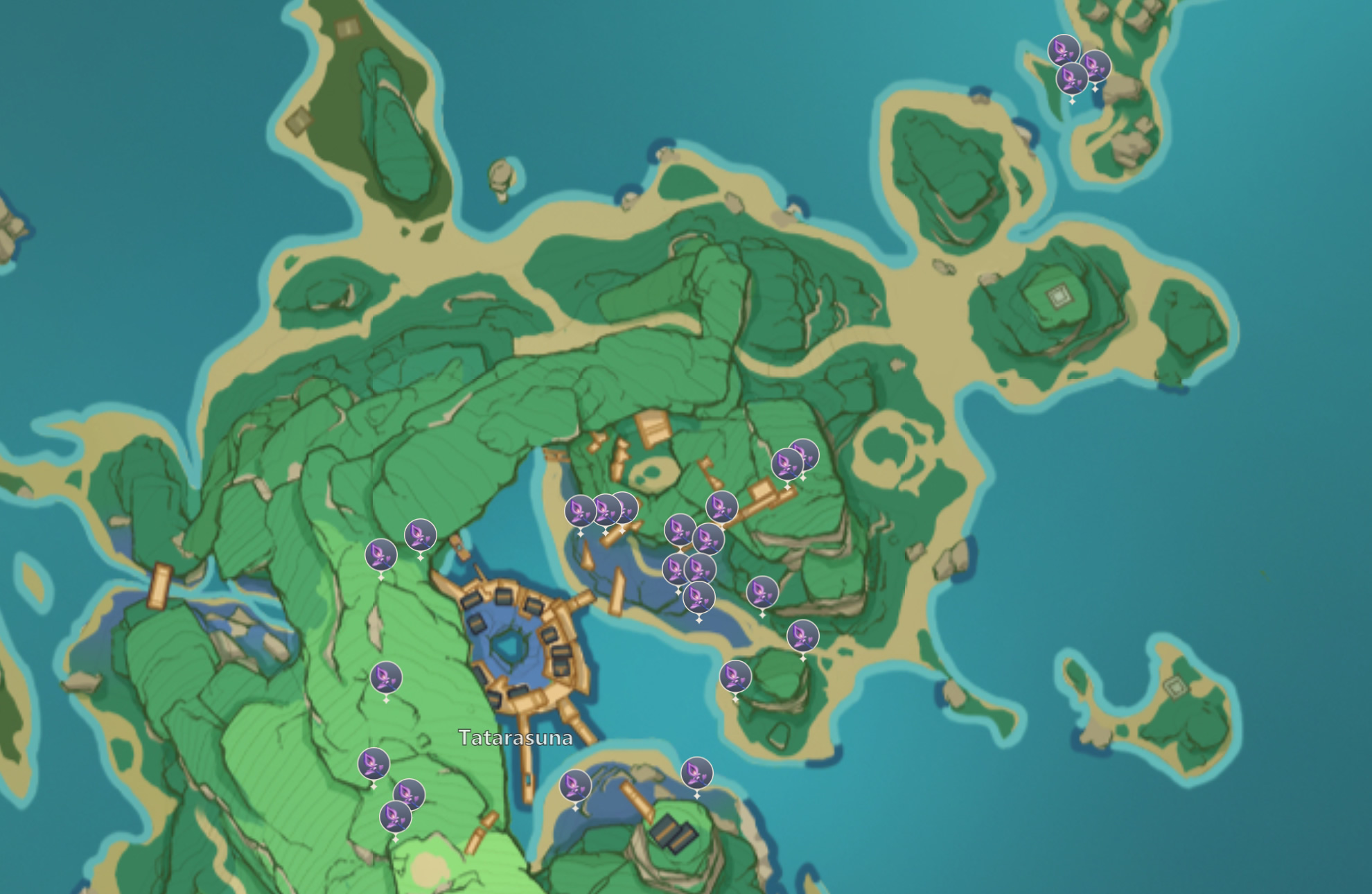 Genshin impact lost riches | lost riches area 2. Genshin Impact Naku Weed Location Map Farming Reset Time And Where To Find Rpg Site