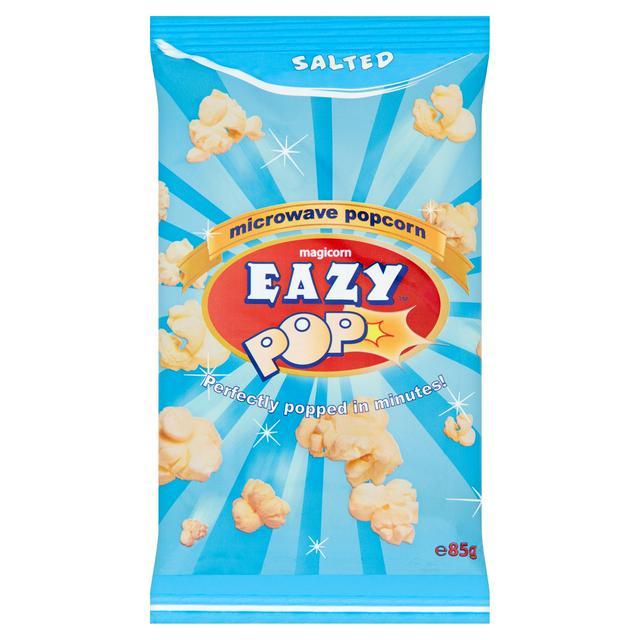 eazypop microwave popcorn salted 85g