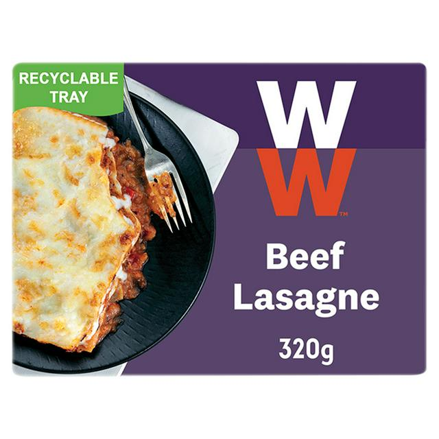 weight watchers from heinz beef lasagne ready meal 320g