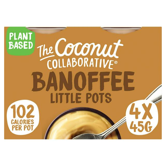 The Coconut Collaborative Banoffee Pots 4x45g | Sainsbury's