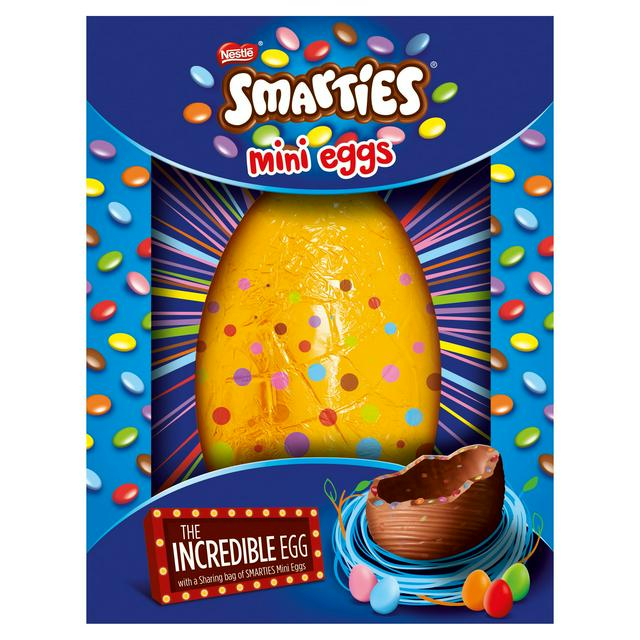 Image result for Smarties Incredible Inclusion Egg with Mini Eggs