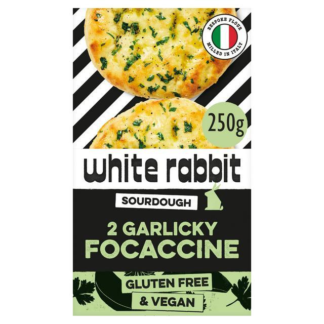 White Rabbit The Garlicky Focaccine x2 270g