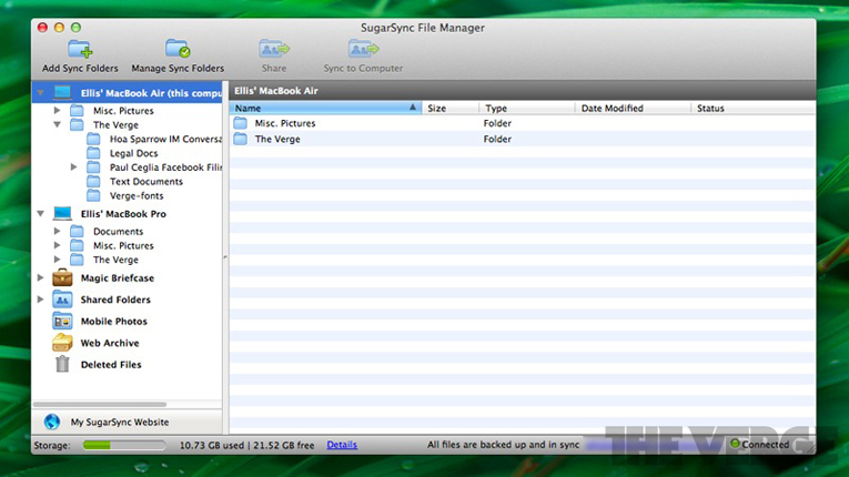 Sugarsync_file_manager