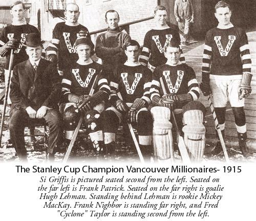 Vancouver Millionaires 1914-15