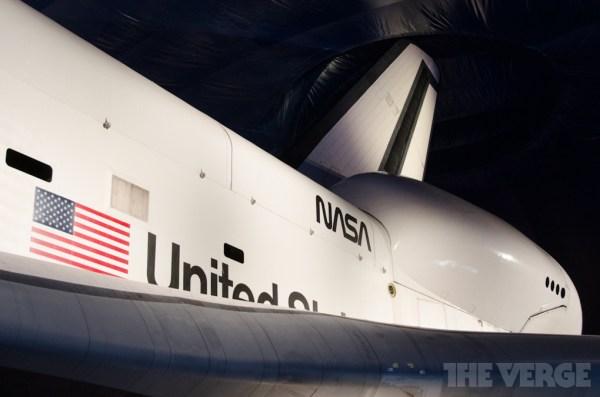 NASA Space Shuttle Enterprise aboard the USS Intrepid in ...