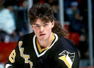 Jaromir Jagr while playing with the Pittsburgh Penguins