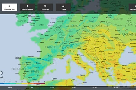 Windows 8 Weather app updated with interactive maps and ski resort     Bingweather1 560