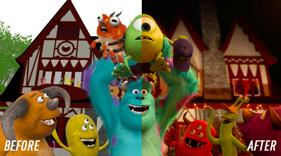 Pixar-before-after
