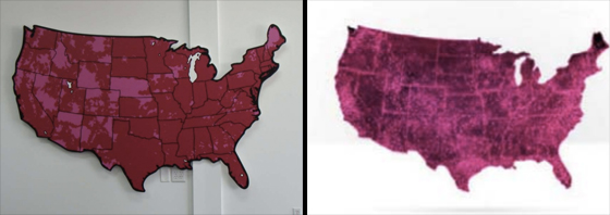 T Mobile sues AT T s Aio Wireless for using its trademarked  magenta     T Mobile includes several images in the complaint to illustrate the  confusion it s hoping to prove  Among those are both its own and Aio s coverage  maps