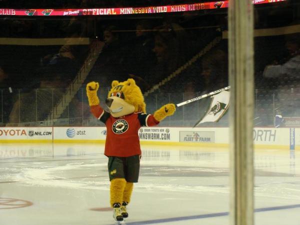 The Minnesota Wild's New Mascot - Nordy! - Hockey Wilderness