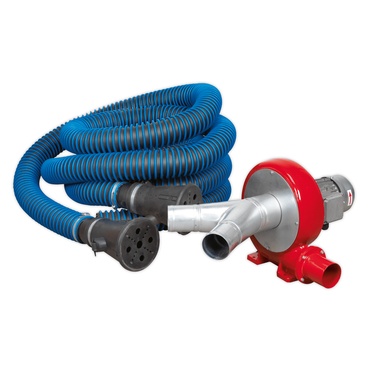 370w exhaust fume extraction system twin duct