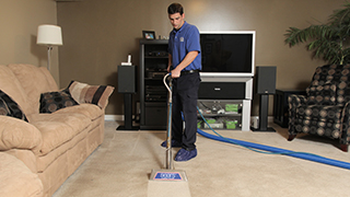 carpet and duct cleaning service
