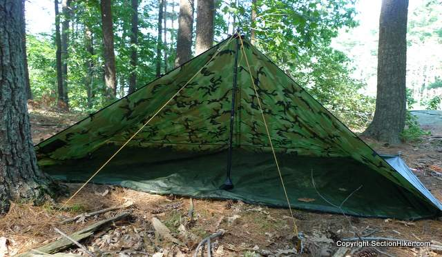 Best Dimensions For A 1 Person Backpacking Tarp Section