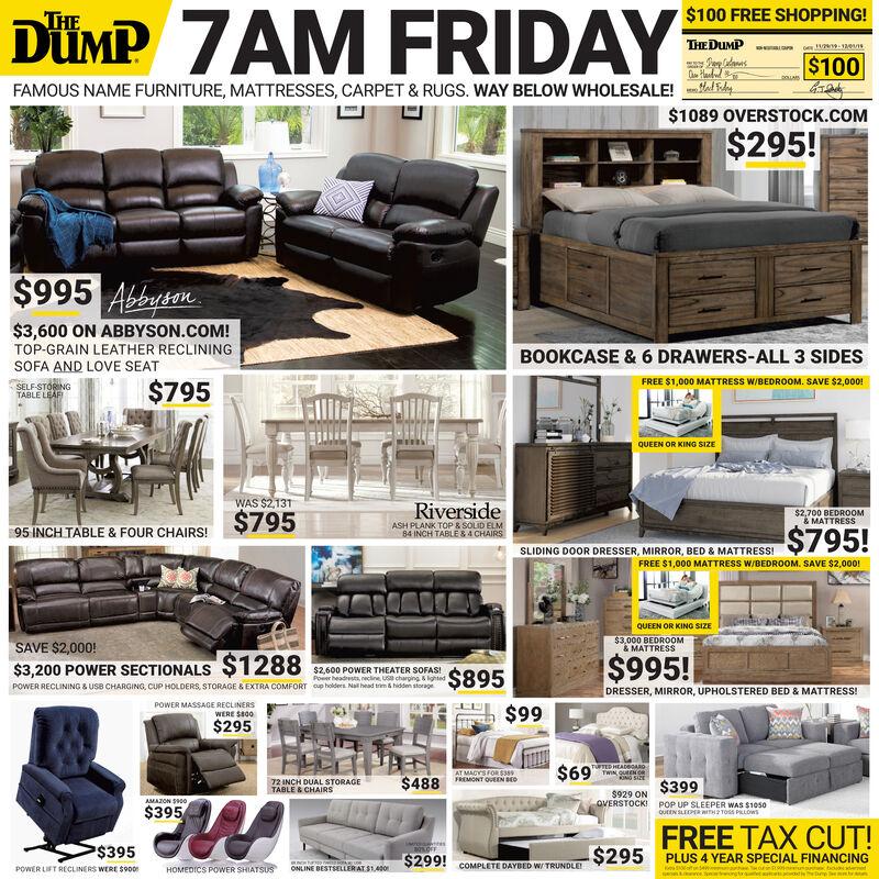 2019 ad the dump furniture