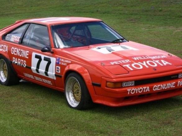1983 Toyota Celica Supra MA61 Group A Race Car ARTRacing