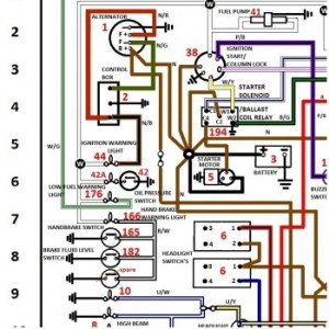 WIRING SCHEMATICS COLOUR CODED FOR JAGUAR & TRIUMPH  Shannons Club