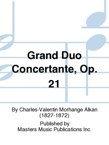 Sheet Music Grand Duo Concertante Op 21 Violin And Piano