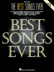 The Best Songs Ever - 6th Edition (Easy Piano) by Various sheet music