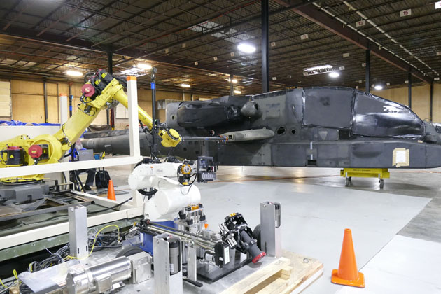 US demos robotic aviation refuelling system