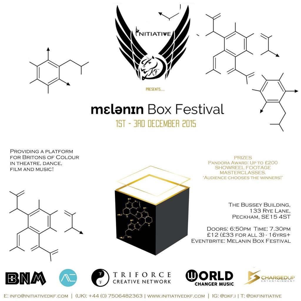 Melanin Box Festival Tickets Bussey Building