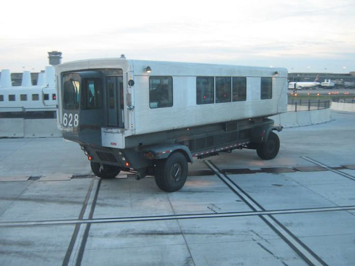 Dulles Airport Mobile Lounges