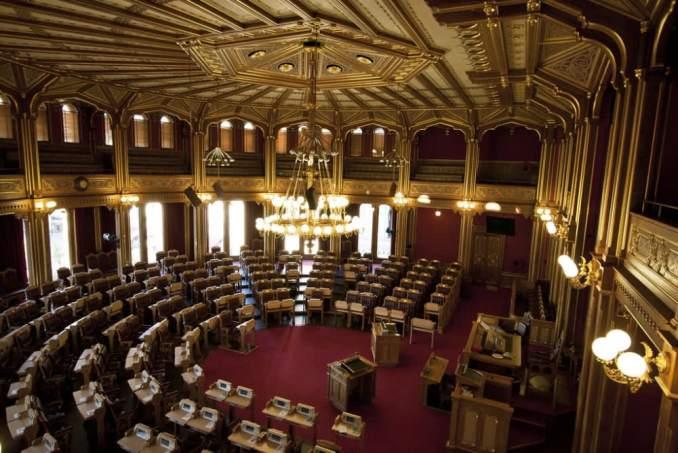 Parlamento binası içi  Dök Mimarlık