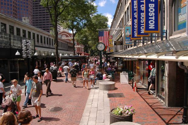 Resultado de imagen de faneuil hall marketplace boston ma