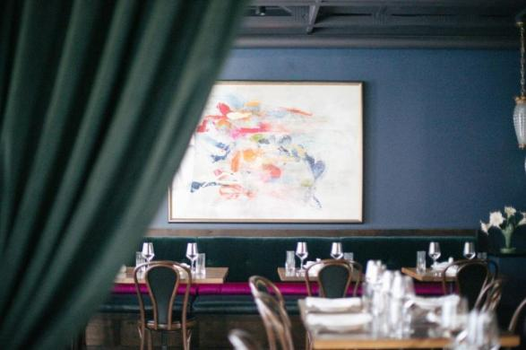 La Volpe dining room in austin texas