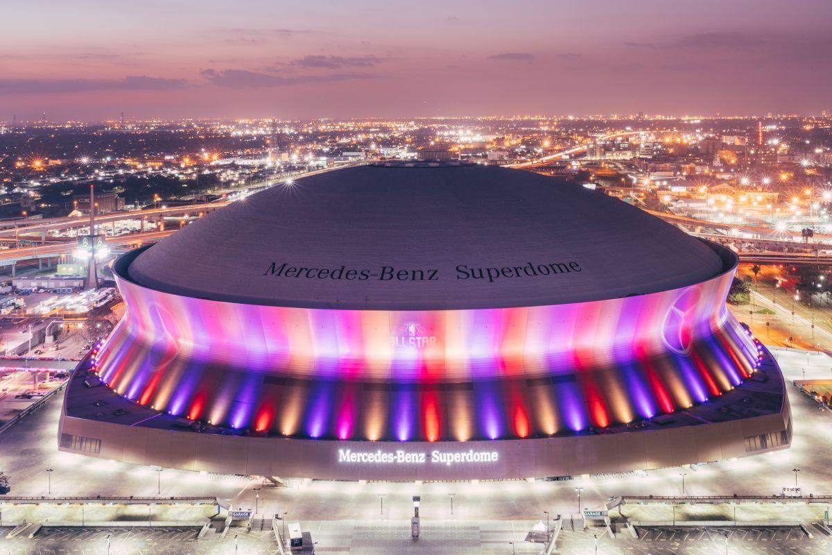 Image result for mercedes benz superdome