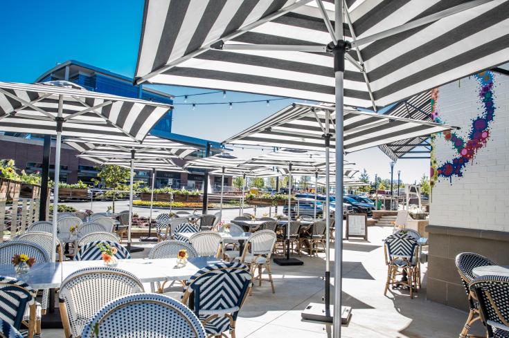 great patios for al fresco dining