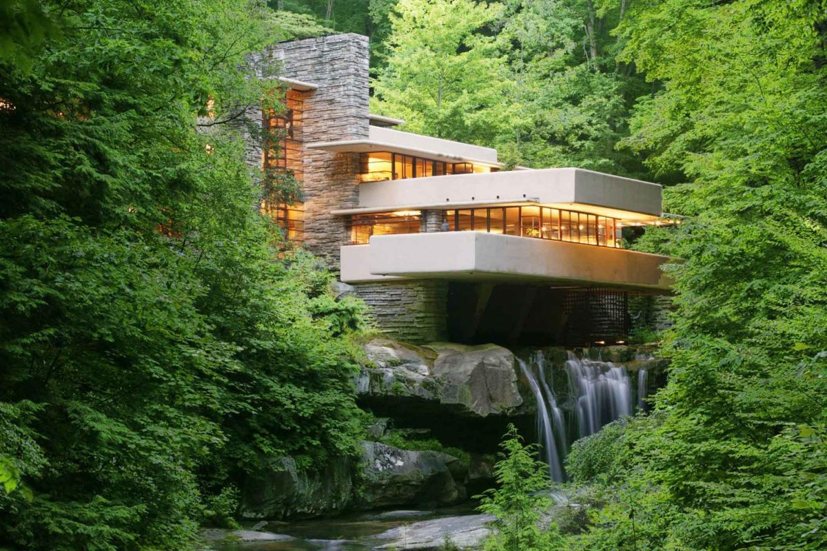 Frank Lloyd Wright Tours Fallingwater