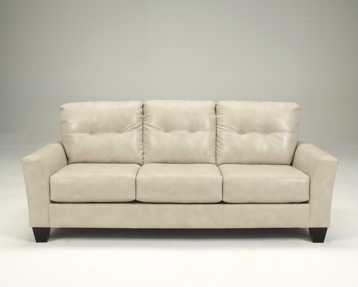 2700038 Signature By Ashley Paulie DuraBlend Sofa Taupe