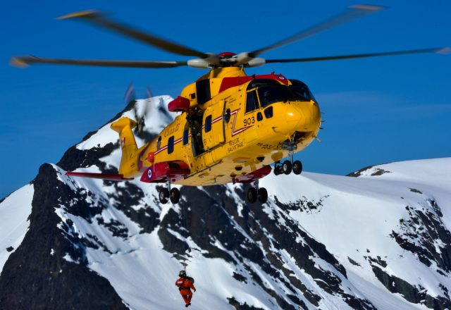 The CH-149 is a variant of AW101 medium-lift helicopter now in service with over a dozen militaries. Mike Reyno Photo