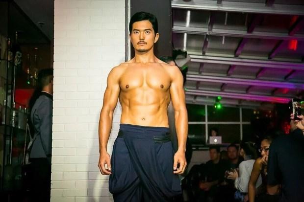 NYファッションショー1