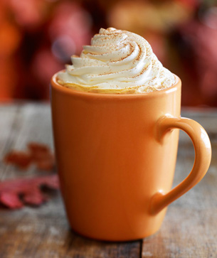 1bf6583cdbf2 Pumpkin Spice Latte. Slightly adapted from The Kitchn. Makes one serving