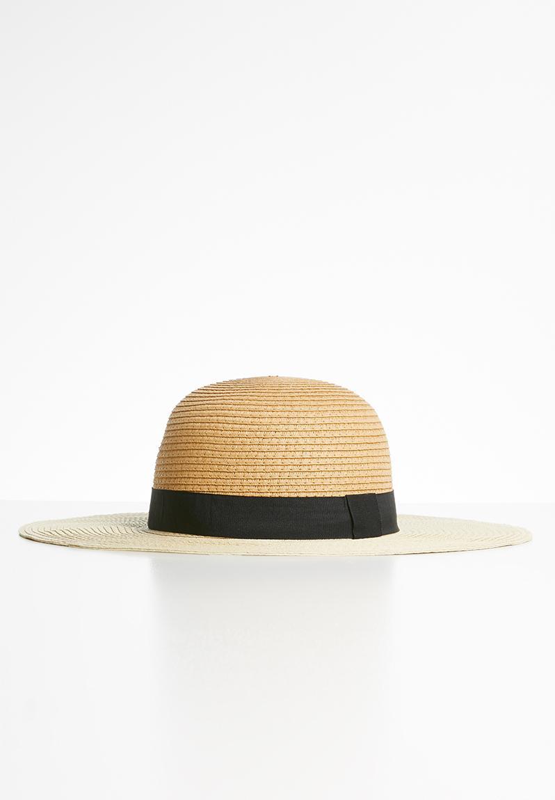 Jade straw hat – natural