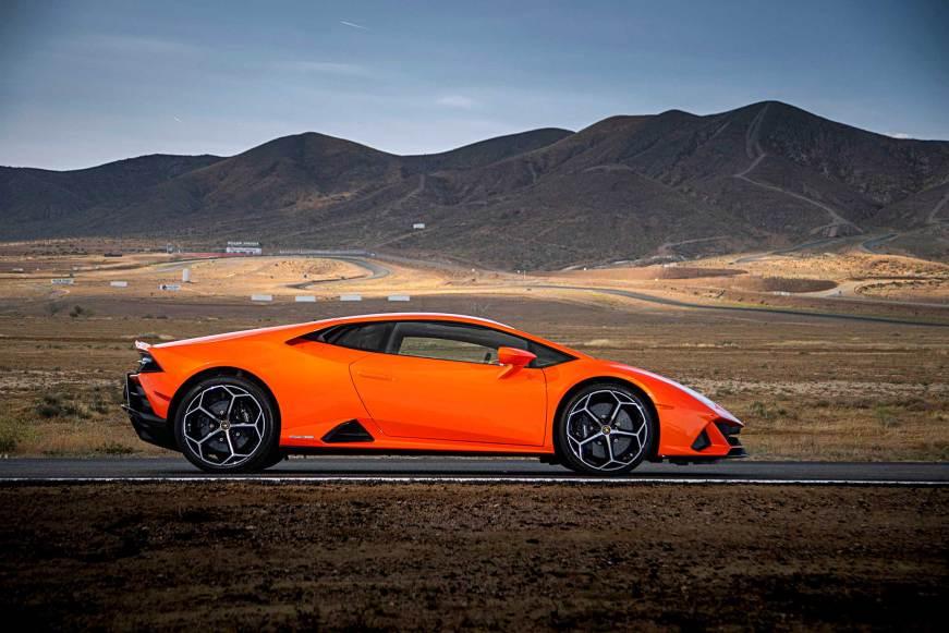 On the Track: 2020 Lamborghini Huracan Evo