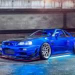 2000 Nissan Skyline Gt R The Halo Effect