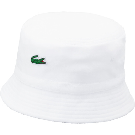Supreme®/LACOSTE Velour Crusher (White)
