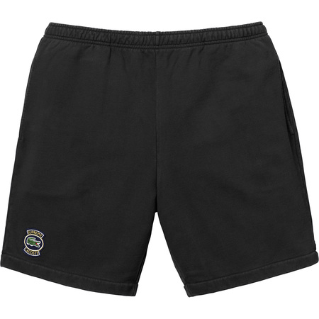 Supreme®/LACOSTE Sweatshort (Black)