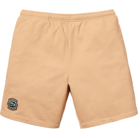 Supreme®/LACOSTE Sweatshort (Light Brown)