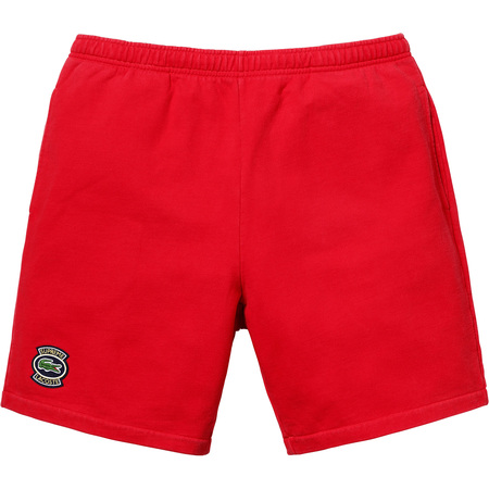 Supreme®/LACOSTE Sweatshort (Red)