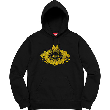 Love or Hate Hooded Sweatshirt (Black)