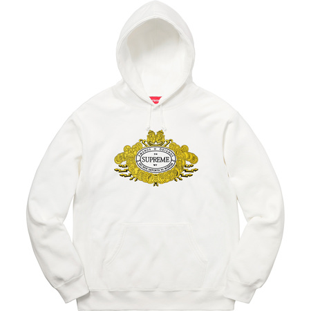 Love or Hate Hooded Sweatshirt (White)