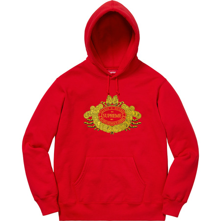 Love or Hate Hooded Sweatshirt (Red)