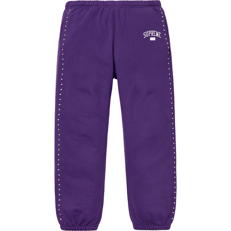 Studded Sweatpant (Purple)