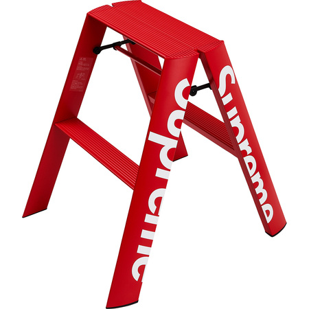 Supreme®/Lucano® Step Ladder (Red)