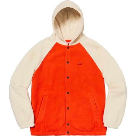 Polartec® Hooded Raglan Jacket (Orange)