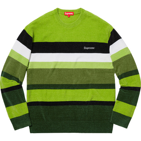 Chenille Sweater (Green)